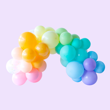 Whimsy Rainbow Colored Balloon Garland - Ellie and Piper
