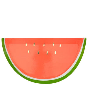 Watermelon Plates - Ellie and Piper