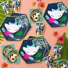 Woodland Animals Large Party Plates - Ellie and Piper