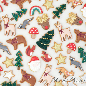 Christmas Motif Cookie Cutters - Ellie and Piper