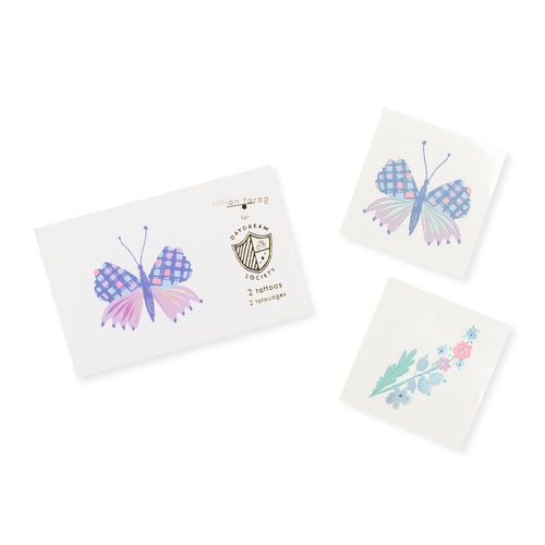 Flutter Butterfly Tattoos