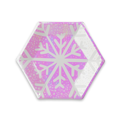 Frosted Snowflake Small Plates