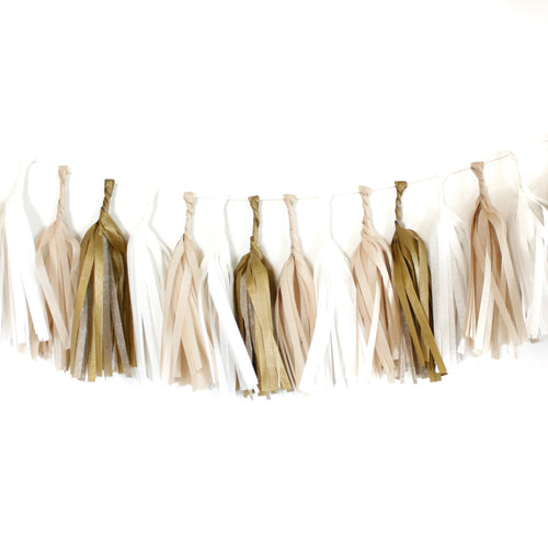 Tassel Garland Kit - Golden