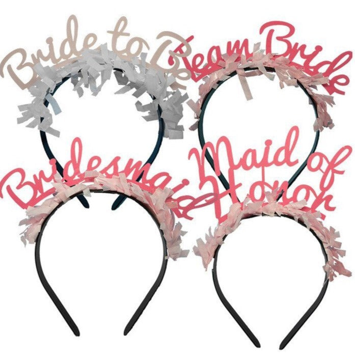 BRIDAL PARTY HEADBANDS - PARTY PACK