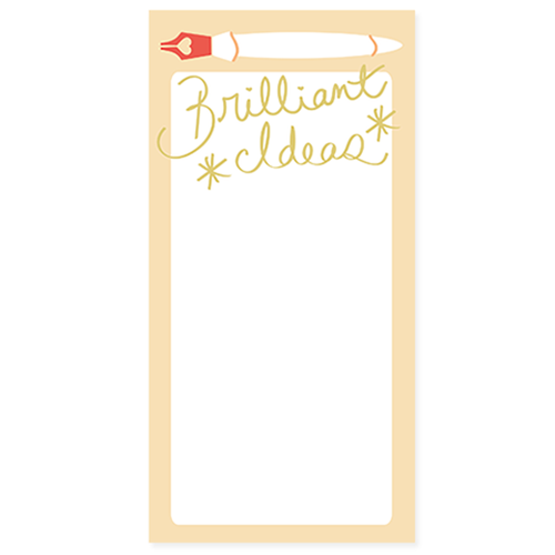 Brilliant Ideas Notepad - Ellie and Piper
