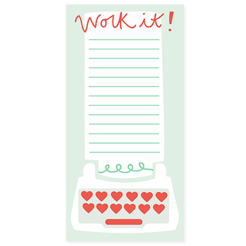 Work It Notepad