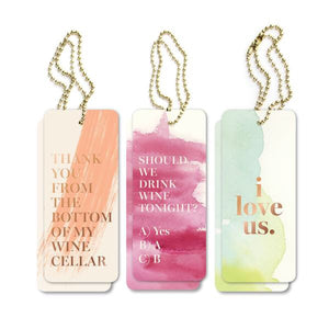 Rose Gold Watercolor Gift Tags