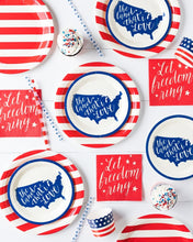 Let Freedom Ring Cocktail Napkins
