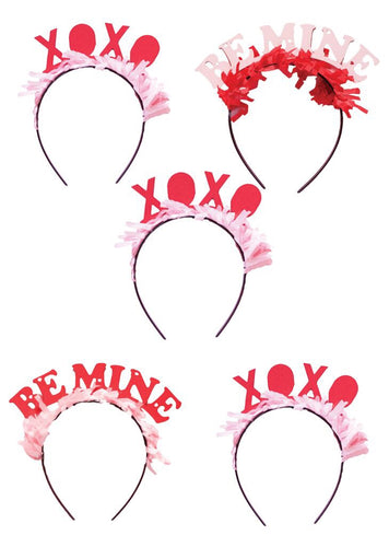 Valentine's Day Headbands - Party Pack Ellie & Piper Party Boutique
