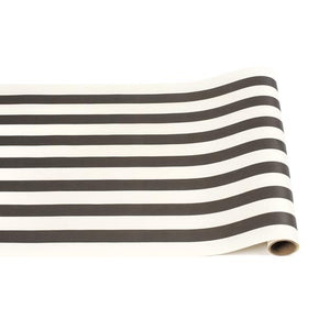 Black Classic Stripe Table Runner - Ellie and Piper