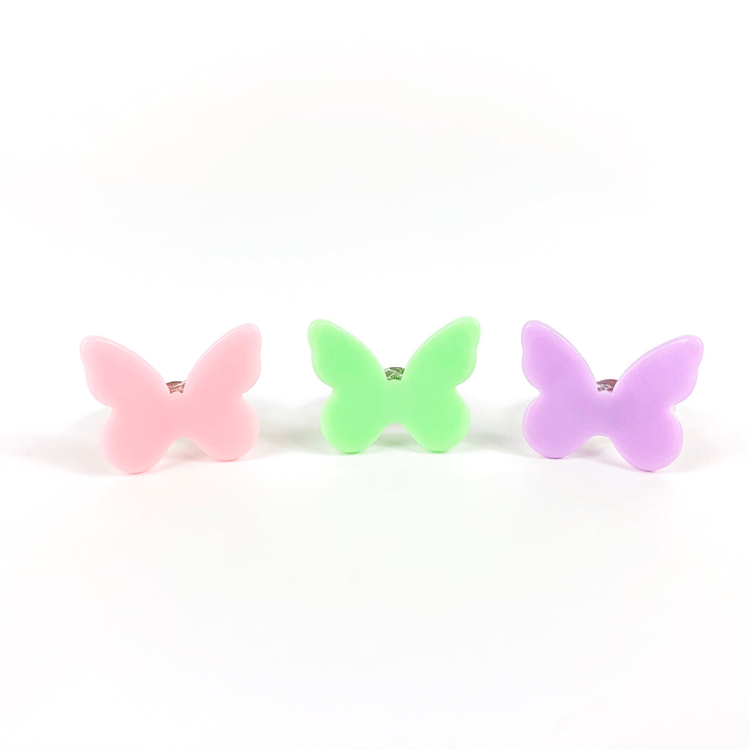 Butterfly Rings - Set of 3 - Ellie and Piper