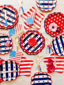 Assorted Stars & Stripes Cutlery
