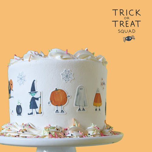 COMING SOON! Trick or Treat Edible Stickies Decorating Kit - Ellie and Piper