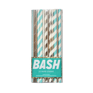 Disco Diamond Foil Straws - Mixed Pack - Ellie and Piper