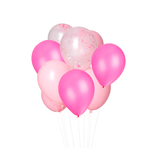 Flamingo Pink Balloon Bouquet - Ellie and Piper