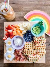 Rainbow Shaped Novelty Paper Plates - Ellie and Piper
