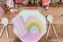 Shiny Iridescent Paper Dinner Plates - Ellie and Piper