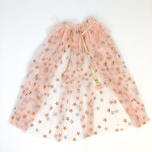 Blush Pink Star Gazer Tulle Cape - Ellie and Piper