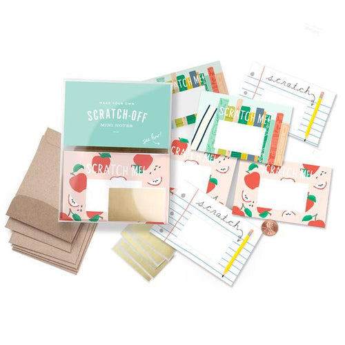 Teacher Scratch-off Mini Notes