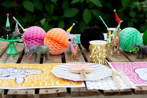 Gold Fringe Party Cups - Ellie and Piper