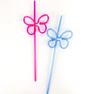 Butterfly Shaped Straw - Ellie and Piper