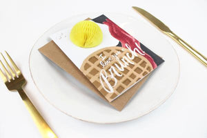 Brunch Egg Pop-Up Card