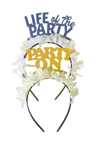 LIFE OF THE PARTY HEADBANDS - PARTY PACK