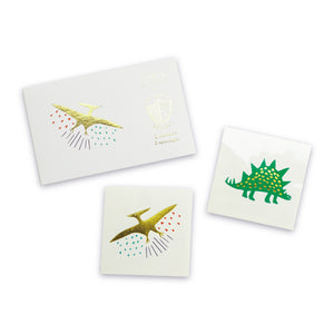 Dinomite Dinosaur Temporary Tattoos - Ellie and Piper