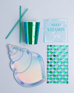 Shell Yeah Mermaid Guest Napkins - Ellie and Piper
