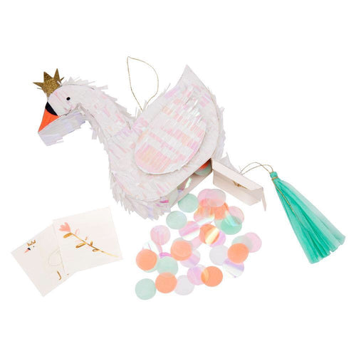 Swan Party Favor Mini Piñata