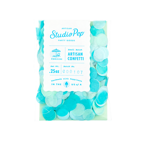 Poolside Blue Confetti Pack