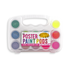 Glitter and Neon Poster Paint Pods - Ellie and Piper
