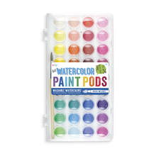 Rainbow Watercolor Paint Pods - Ellie and Piper