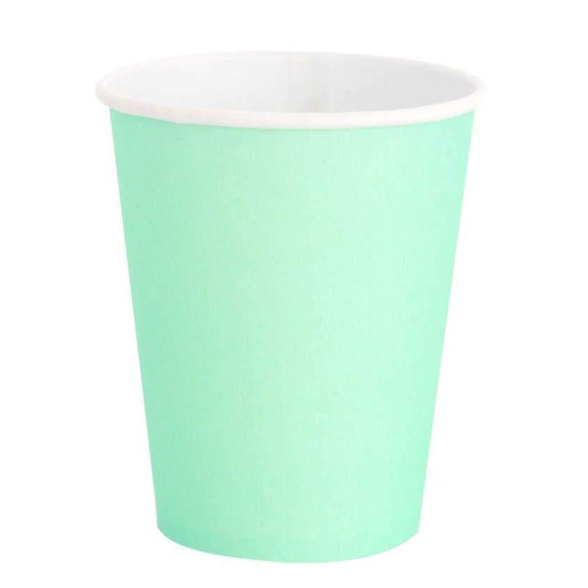 Mint Green Classic Party Cups - Ellie and Piper