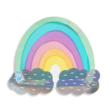 Over The Rainbow Large Paper Plates - Ellie and Piper