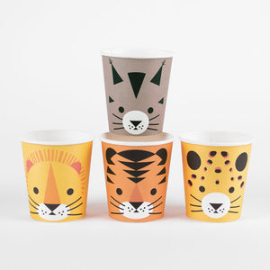 Mini Felines Paper Cups - Ellie and Piper
