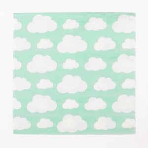Cloud Print Paper Napkins - Ellie and Piper