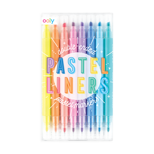 Pastel Liners Dual Tip Markers - Ellie and Piper