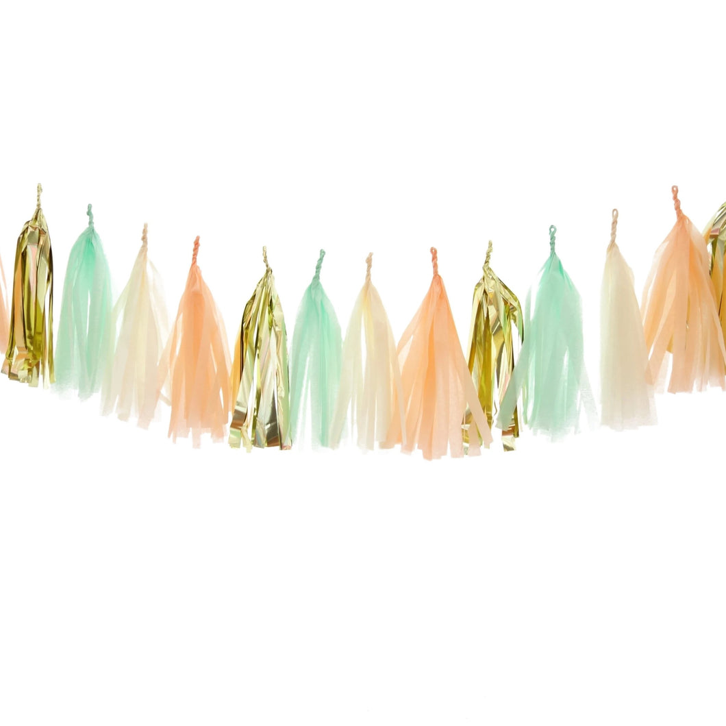 Tassel Garland Peaches & Mint