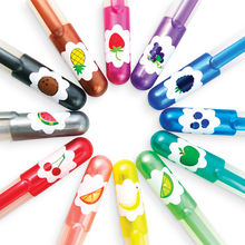 Yummy Fruit Scented Glitter Gel Pens - Ellie and Piper