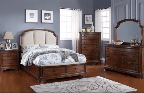 Chateaux Storage Bed with Drawers