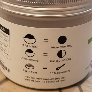 犬用DIY鮮食營養粉 Wellness DIY Nutrient Blend – FOR DOGS