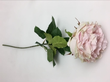 83CMH ARTIFICIAL FLOWER - PEONY ROSE PINK