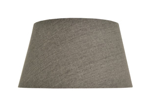 Charcoal 46 Tapered Drum Lampshade