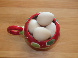 Guinea Fowl Eggs by the Dozen