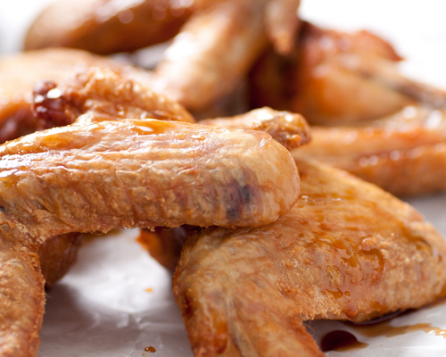 Pasture Raised Organic Whole Chicken Wings (drumstick, flat and tips) Package of 6