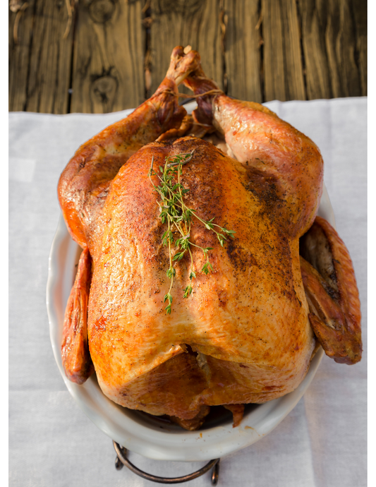Thanksgiving Pasture Raised GMO-Free Whole Turkeys! (Deposit only)