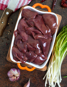 Pasture Raised GMO-Free Chicken Liver 1 lb avg.