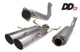 DD-R Resonated Exhaust for 2017+ Honda Civic Si - Two Step Performance