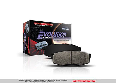 Z16 Evolution Brake Pads for 2018+ Honda Accord - Two Step Performance